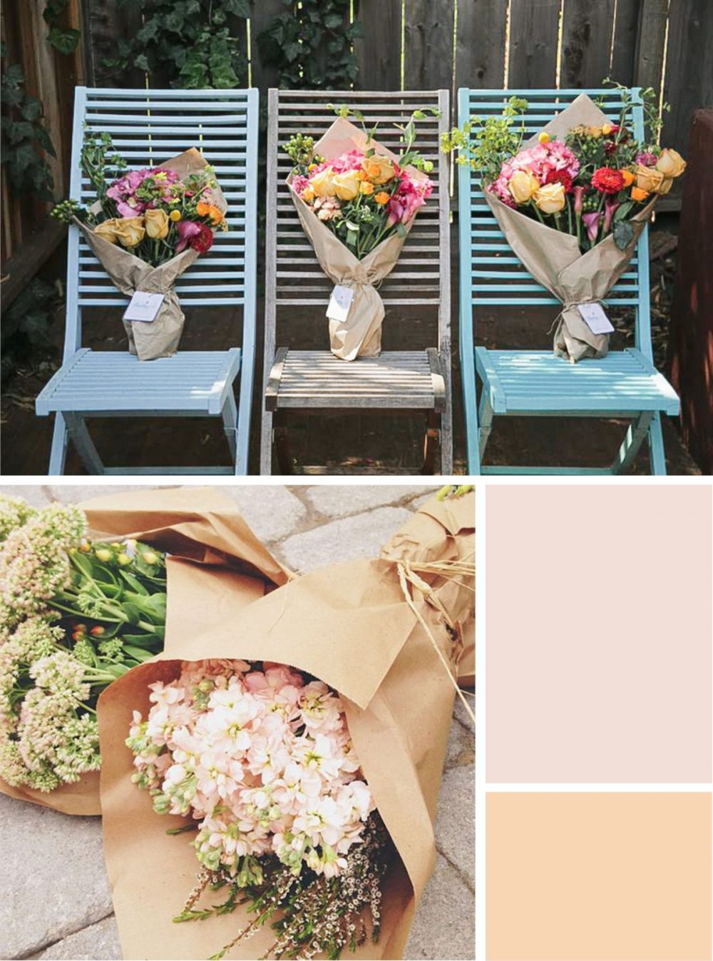 summer floral party