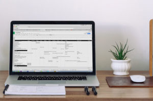 how to get madly organized template for google sheets with menu