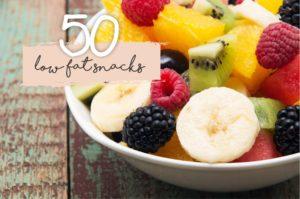 50 low fat snacks