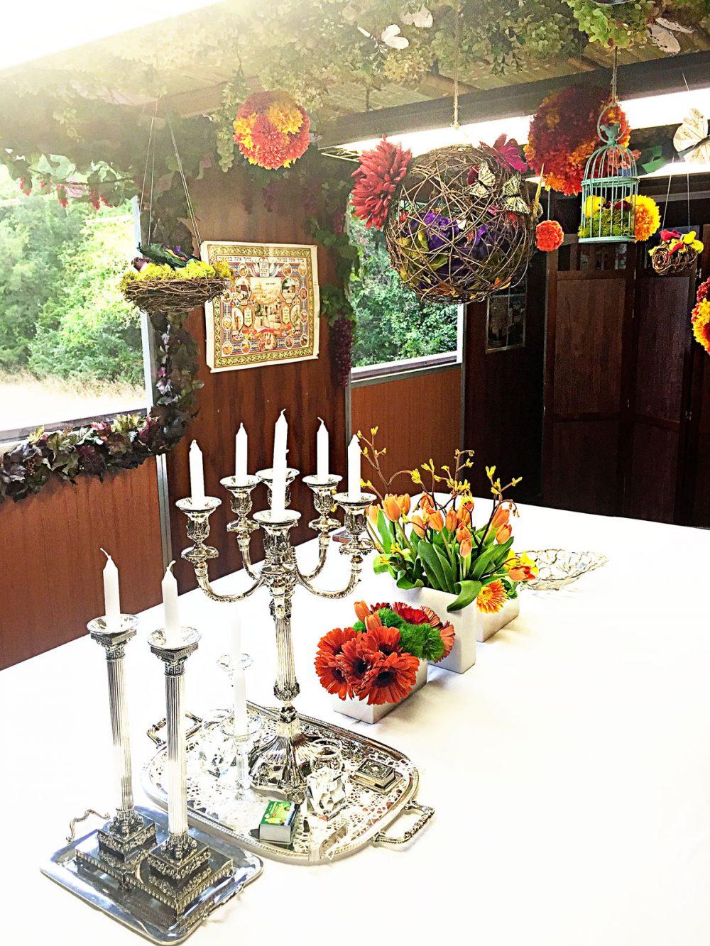 sukkah decorations by Renee Muller Our Table