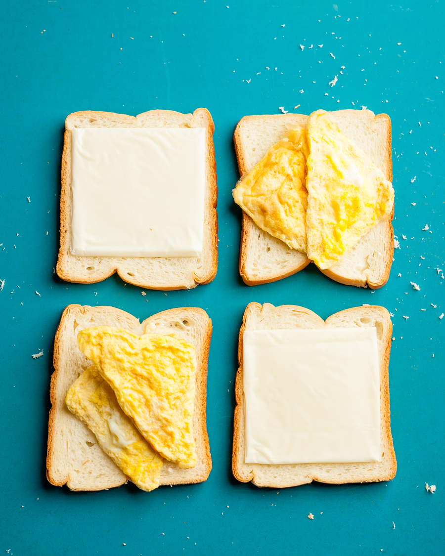 Cooking in a Hotel Room? 9 Ways to Use Your Sandwich Maker - Kosher Egg Omelette using a Sandwich Maker