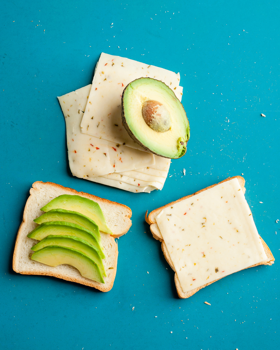Cooking in a Hotel Room? 9 Ways to Use Your Sandwich Maker - Kosher Pepper Jack Avocado Sandwich using a Sandwich Maker