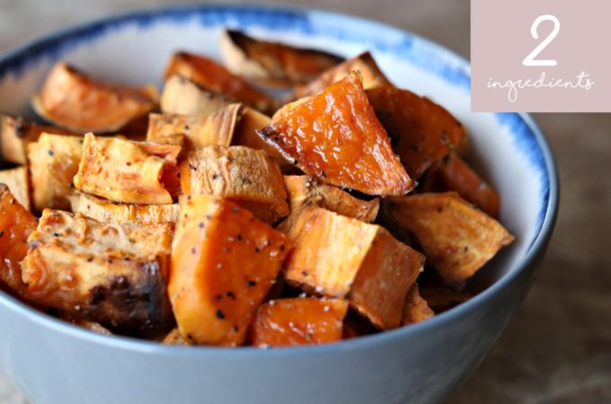 Two-Ingredient Side Dishes: Maple Sweet Potatoes These are the side dishes you'll make the most often in the least amount of time.
