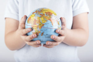 Globes. Every home should have a good one. It holds the answers to so many curious questions.