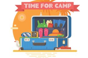 "Sending a child to sleepaway? Overwhelmed with all the ""stuff"" they need? This list can help."