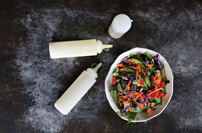 One Simple Way to Get Your Family (and Yourself) to Eat More Veggies. Having salad dressing ready and accessible in the fridge makes it so much easier to enjoy salad or veggies anytime.