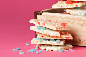 You Asked for It! Victoria's White Chocolate Crispy Candy Bark