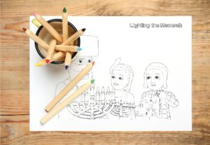 Your Kids Loved Meeting The Shpielmans Last Night. Now, Download Free Shpielman's Chanukah Coloring Pages!