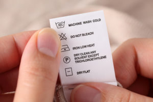 What Do All Those Symbols on Your Clothing's Care Label Mean?