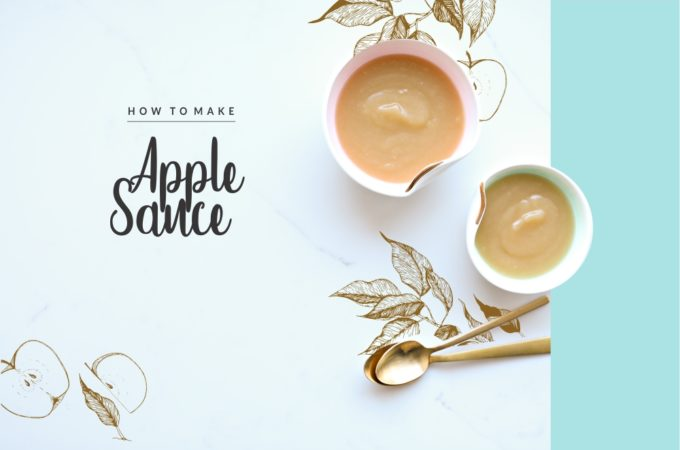 How To Cook Applesauce. It's so simple and incomparably better than the jarred stuff.