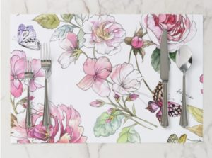 The Perfect (i.e. Gorgeous!) Placemats and Napkins for Your Shavuos Table