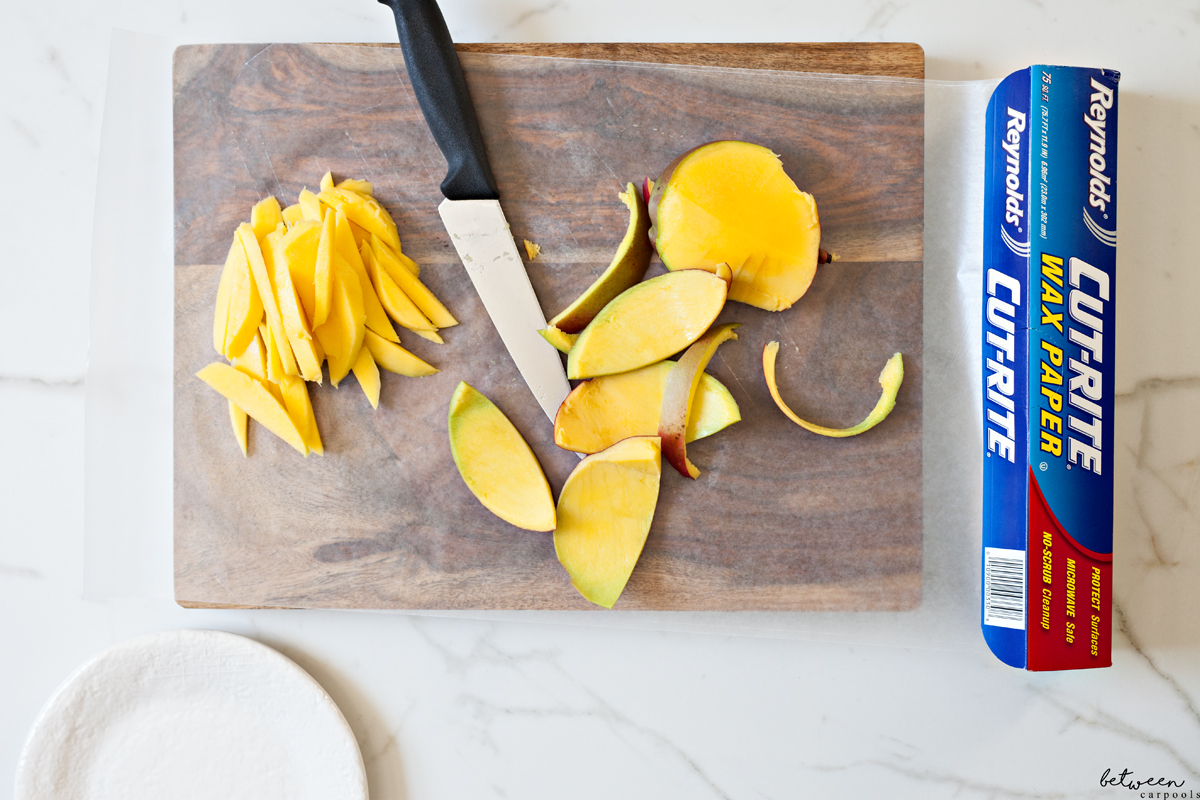 This Cutting Board Hack Makes Cleaning Up So Easy