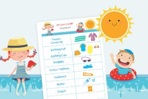 Get Your Kids to Pack Their Own Camp Bags (Free Download!)