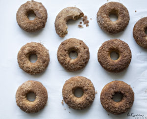 Absolutely Yummy Apple Cider Baked Donuts