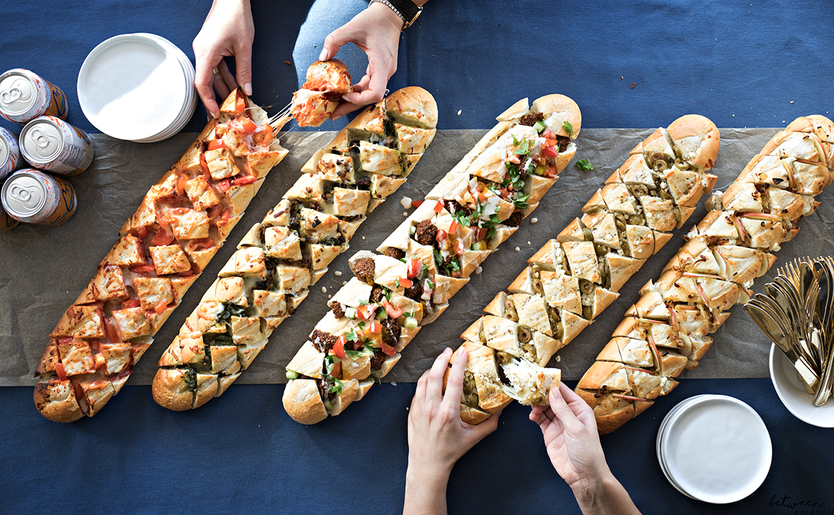 Bring your Chanukah party table to life with these tempting party breads! They're easy to prepare and will be gone within minutes.