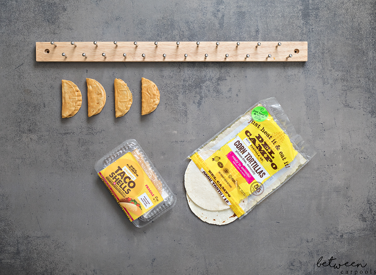 The Falling Taco Days Are Over! Taco Bars Are Now Possible! You can fill up your Del Campo shells and they WILL stand on their own.