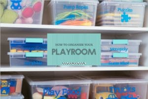 How to Get That Playroom Super Organized (Your Kids Will Even Want to Put Things Away)