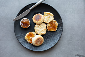 Do You Love English Muffins, Split Open and Toasted with Melted Butter? Then Click Here.