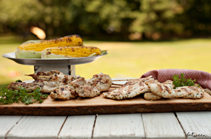 Finally - Really, Really Good Zesty Herbed Grilled Chicken