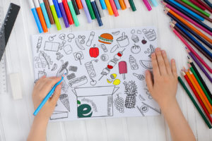 evergreen coloring pages