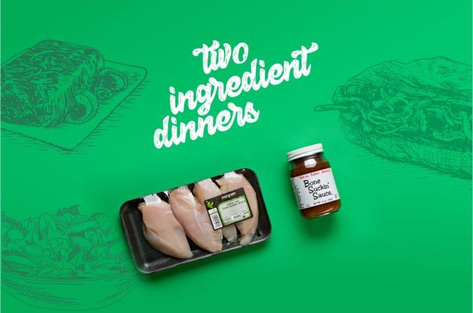 2 ingredient dinner