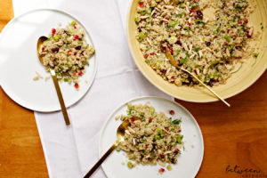 Make This Pomegranate Studded Quinoa Salad for . You've decided on your mains. But what about your sides and salads? Make Quinoa Salad with Pomegranate.