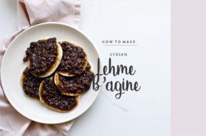 Basics: How to Make Syrian Lehme B'agine