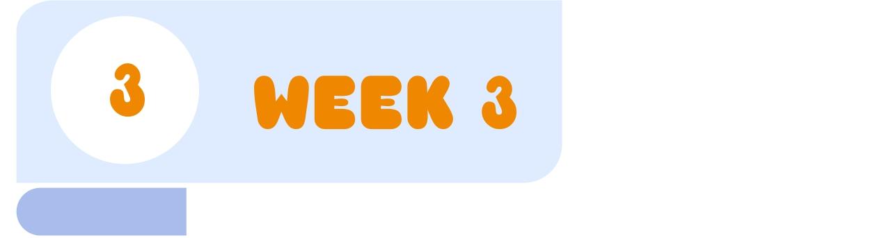 week 3 menu