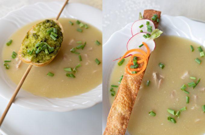 soup presentation