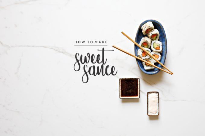 how to make sweet sauce