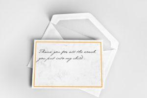 thank yhou card