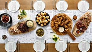 Party or Siyum Table – This Is a Fun Feast