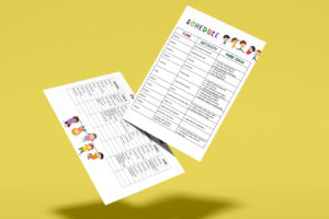 Free Download! Daily Schedule + Suggested Activities
