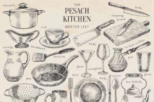 The Pesach Kitchen Master List