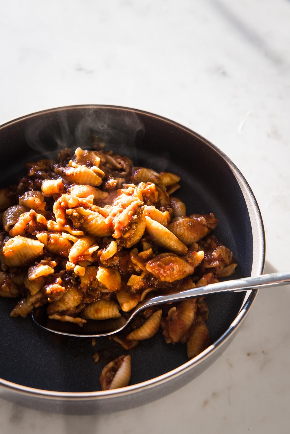 meat pasta instant pot