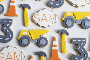 Inspiration Alert: An Adorable Construction-Themed Upsherin Birthday Party