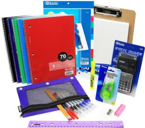 It's Time to Stock Up on School Supplies