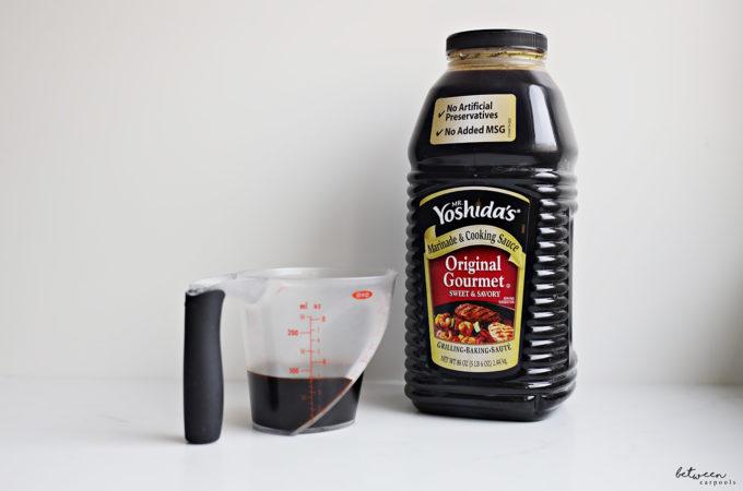 yoshida sauce