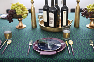 In the Mood to See a Magnificent Purim Table? (Sshh…We Used Disposable Dishes)