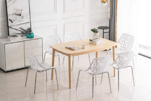 Updated! Forget Folding Chairs. Bring Out These Stackable Chairs When You Have Guests.