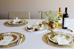 Wait Until You See This Gorgeous Seder Table