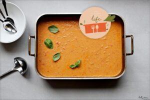 Make a Dairy, Creamy Roasted Tomato Soup