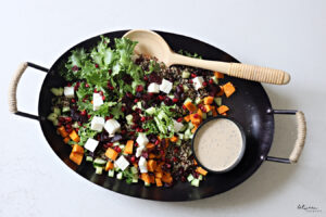 Do You Love Beautiful Dairy Salads with Interesting, Exciting Ingredients? Try This.