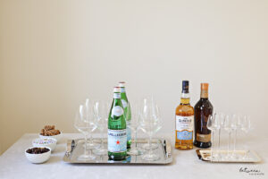 Mazel Tov! How Does One Set Up For A L'Chaim Or A Spontaneous Party, At Home?