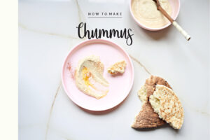 Basics: Make Your Own Amazing Hummus/Chummus