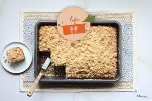 Cinnamon Swirl Crumb Cake: Smells Like Fall, Tastes Like Yom Tov