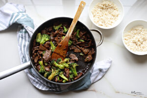 Make This Delicious Beef & Broccoli for Dinner. It's Healthier Than Takeout & So Easy!
