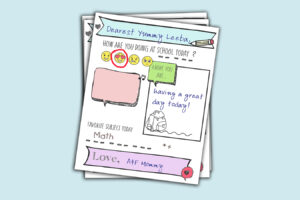 You'll Love Our Adorable School Notes – Free Download!